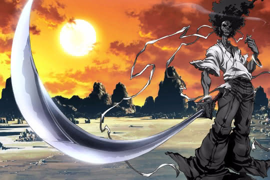 anime_Afro Samurai