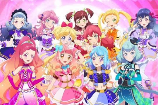 anime_Aikatsu Friends!