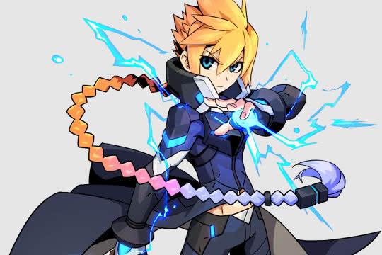 anime_Armed Blue Gunvolt