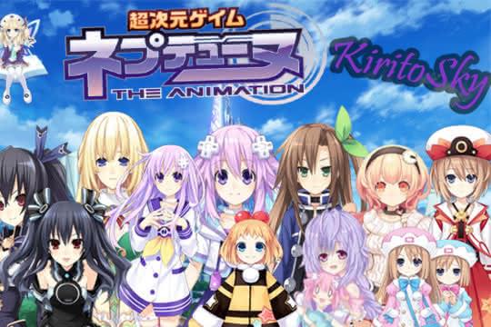 anime_Choujigen Game Neptune : The Animation