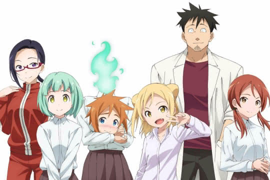 anime_Demi-chan wa Kataritai
