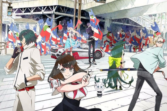anime_Gatchaman Crowds