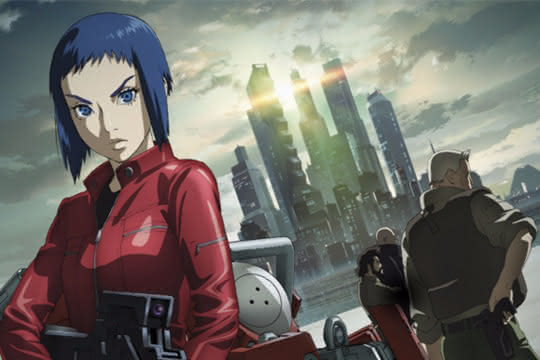 anime_Ghost in the Shell : Arise