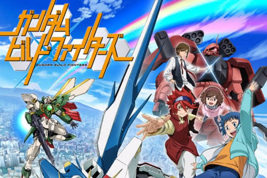 anime_Gundam Build Fighters