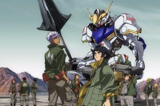 anime_Gundam : Tekketsu no Orphans
