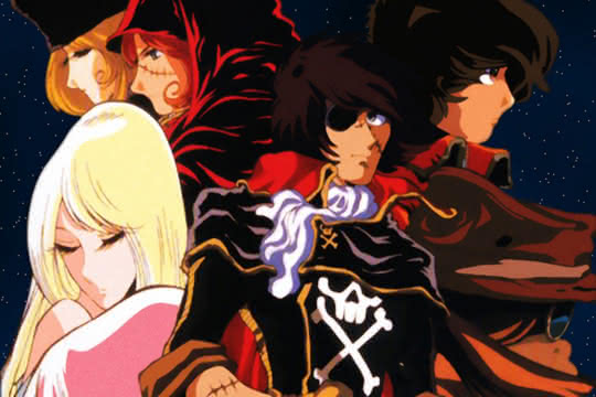 anime_Harlock Saga