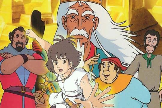 anime_Les Mystérieuses Cités d'or