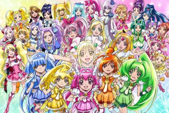 anime_Precure All Stars Movie DX