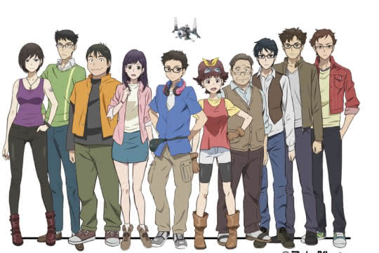 anime_Robomasters The Animated Series
