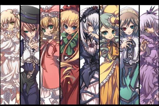 anime_Rozen Maiden