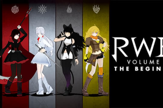 anime_RWBY VOLUME 1-3: The Beginning