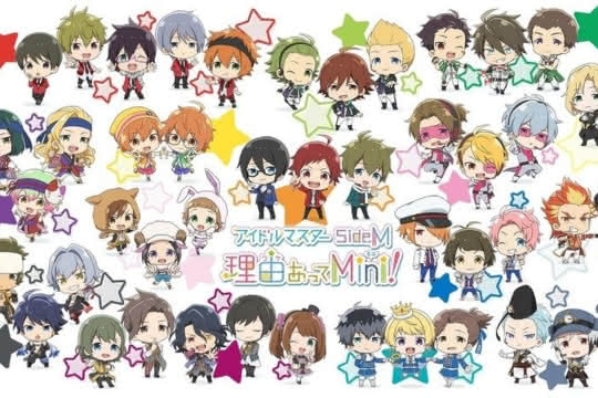 anime_The iDOLM@STER SideM: Wake Atte Mini!