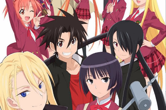 anime_UQ Holder! Mahou Sensei Negima! 2
