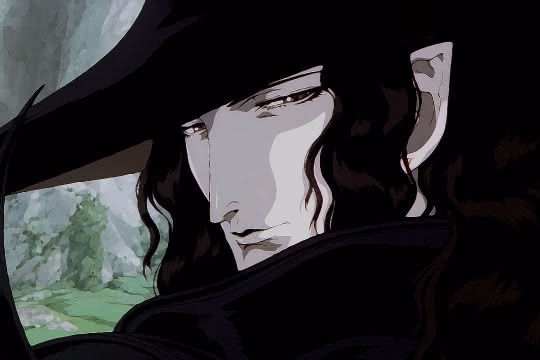 anime_Vampire Hunter D : Bloodlust
