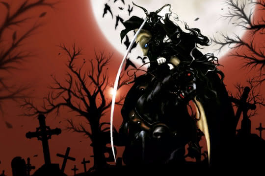 anime_Vampire Hunter D